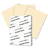 Digital Index Color Card Stock, 110 lb, 8 1/2 x 11, Ivory, 250 Sheets/Pack