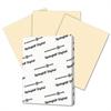 Digital Index Color Card Stock, 110 lb, 8 1/2 x 11, Ivory, 250 Sheets/Pack