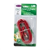 Belkin CAT5e Snagless Patch Cable, RJ45 Connectors, 7 ft., Red
