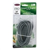 Belkin CAT5e Snagless Patch Cable, RJ45 Connectors, 14 ft., Gray