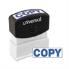 Message Stamp, COPY, Pre-Inked One-Color, Blue