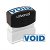 Universal Message Stamp, VOID, Pre-Inked One-Color, Blue