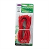CAT5e Snagless Patch Cable, RJ45 Connectors, 25 ft., Red