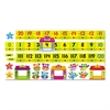 TREND Bulletin Board Set, Number Line, Owl-Stars, 40 ft, 49 Pieces/Kit
