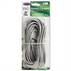 Belkin CAT5e Crimped Patch Cable, RJ45 Connectors, 25 ft., Gray