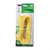 Belkin CAT5e Snagless Patch Cable, RJ45 Connectors, 25 ft., Yellow