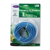 Belkin CAT5e Snagless Patch Cable, RJ45 Connectors, 50 ft., Blue