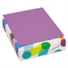 Mohawk BriteHue Multipurpose Colored Paper, 20lb, 8 1/2 x 11, Violet, 500 Sheets