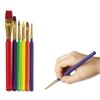 Creativity Street Acrylic Triangular-Handle Paint Brush Set, 36 Brushes/Set