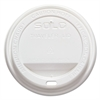 SOLO Cup Company Traveler Drink-Thru Lid, White, 1000/Carton