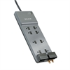 Office Series SurgeMaster Surge Protector, 8 Outlets, 12 ft Cord, 3390 Joules
