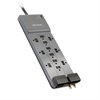 Professional Series SurgeMaster Surge Protector, 12 Outlets, 8 ft Cord