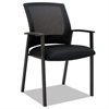 ES Series Mesh Stack Chairs, Black, 2 per Carton