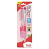 Pentel Pink Ribbon Twist-Erase CLICK Mechanical Pencil, 0.7 mm, 2/Pack