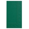 Hoffmaster Dinner Napkins, 2-Ply, 15 x 17, Hunter Green, 1000/Carton