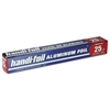 "Aluminum Foil Roll, 12"" x 25 ft, 24/Carton"