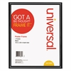 Universal Glossy Black Poster Frame, 16 x 20