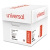 Universal Green Bar Computer Paper, 20lb, 14-7/8 x 11, Perforated Margins, 2400 Sheets