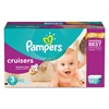 Pampers Cruisers Diapers, Size 3: 16 - 28 lbs, 140/Carton