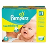Pampers Swaddlers Diapers, Size 2: 12 - 18 lbs, 148/Carton
