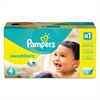 Pampers Swaddlers Diapers, Size 4: 22 - 37 lbs, 116/Carton