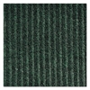 Crown Needle-Rib Wiper/Scraper Mat, Polypropylene, 36 x 48, Green/Black