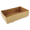 SCT 4-Corner Pop-Up Food and Drink Tray, 8 5/8 x 5 1/2 x 2 1/4, Brown, 500/Carton