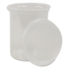 Deli Containers and Lids, 32 oz, Clear, 250 Each/Carton