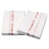 Cascades Busboy Guard Antimicrobial Towels, White/Red, 12 x 21, 1/4 Fold, 150/Carton