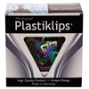 Baumgartens Plastiklips Paper Clips, Large, Assorted Colors, 200/Box