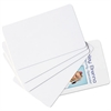 Baumgartens SICURIX Blank ID Card, 2 1/8 x 3 3/8, White, 100/Pack
