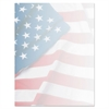 Design Suite Paper, 24 lbs., Flag, 8 1/2 x 11, Blue/Red/White, 100/Pack