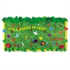 "Fadeless Designs Bulletin Board Paper, Tropical Foliage, 48"" x 50 ft."