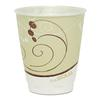 SOLO Cup Company Symphony Design Trophy Foam Hot/Cold Drink Cups, 8oz, Beige, 1000/Carton