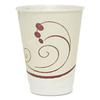 Symphony Design Trophy Foam Hot/Cold Drink Cups, 12oz, 300/Carton