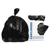 Low-Density Can Liners, 20-30 gal, 0.9 mil, 30 x 36, Black, 200/Carton