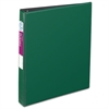 "Durable Binder with Slant Rings, 11 x 8 1/2, 1"", Green"
