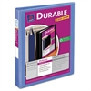 "Avery Durable View Binder w/Slant Rings, 11 x 8 1/2, 1"" Cap, Periwinkle"
