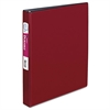 "Durable Binder with Slant Rings, 11 x 8 1/2, 1"", Burgundy"