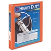 "Avery Heavy-Duty View Binder w/Locking 1-Touch EZD Rings, 1"" Cap, Orange"