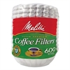 Melitta Basket Style Coffee Filters, Paper, 8 to 12 Cups, 7200/Carton