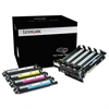 70C0Z50 Imaging Kit, 40000 Page-Yield, Black; Tri-Color