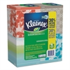 Lotion Facial Tissue, 2-Ply, 75 Sheets/Box, 4 Box/Pack
