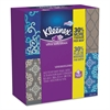 Kleenex Ultra Soft Facial Tissue, 3-Ply, White, 8.75 x 4.5, 75/Box, 4 Box/Pack