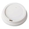 Dome-Design Hot Cup Lids, Fits 12oz. 16oz. 20oz. Cups, White, 1000/Carton