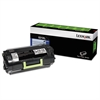 Lexmark 52D1X0L (531XL) Extra High-Yield Toner, 45000 Page-Yield, Black