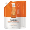 Method Dish Soap Refill, Clementine Scent, 36 oz Pouch