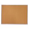 Mead Cork Bulletin Board, 36 x 24, Silver Aluminum Frame
