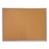 Quartet Classic Cork Bulletin Board, 24 x 18, Silver Aluminum Frame