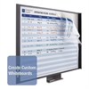 Quartet InView Custom Whiteboard, 47 x 35, Graphite Frame